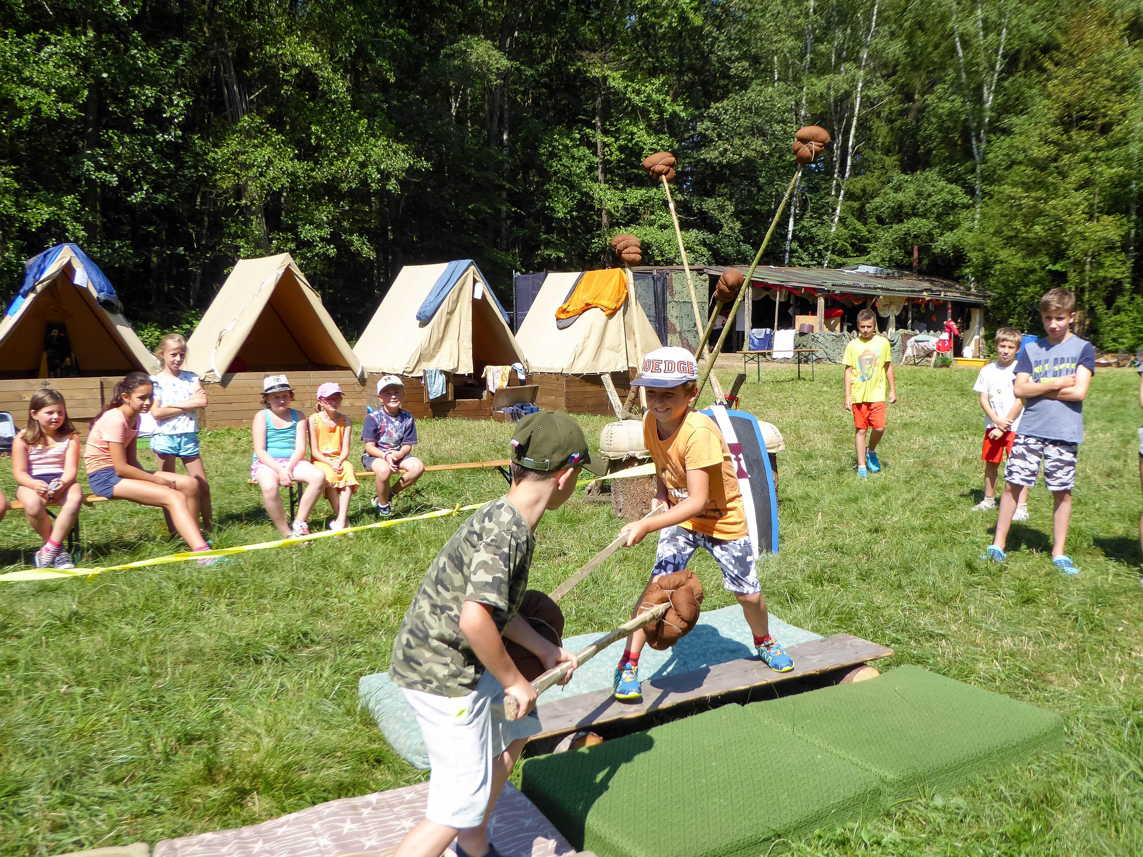 Digitální detox na táborech