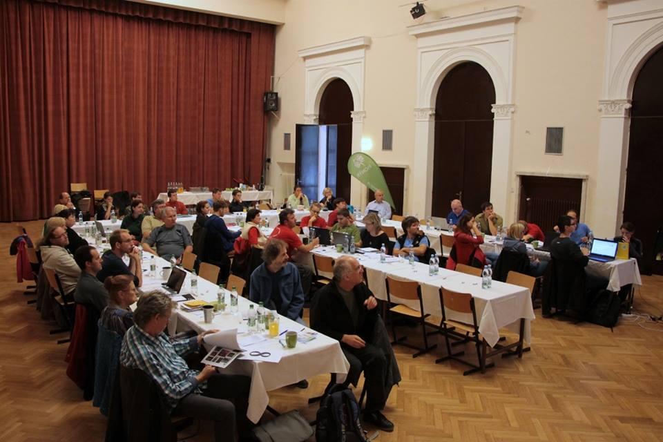 Parlament Jihomoravské krajské rady Pionýra (KRP) a oblastní porada