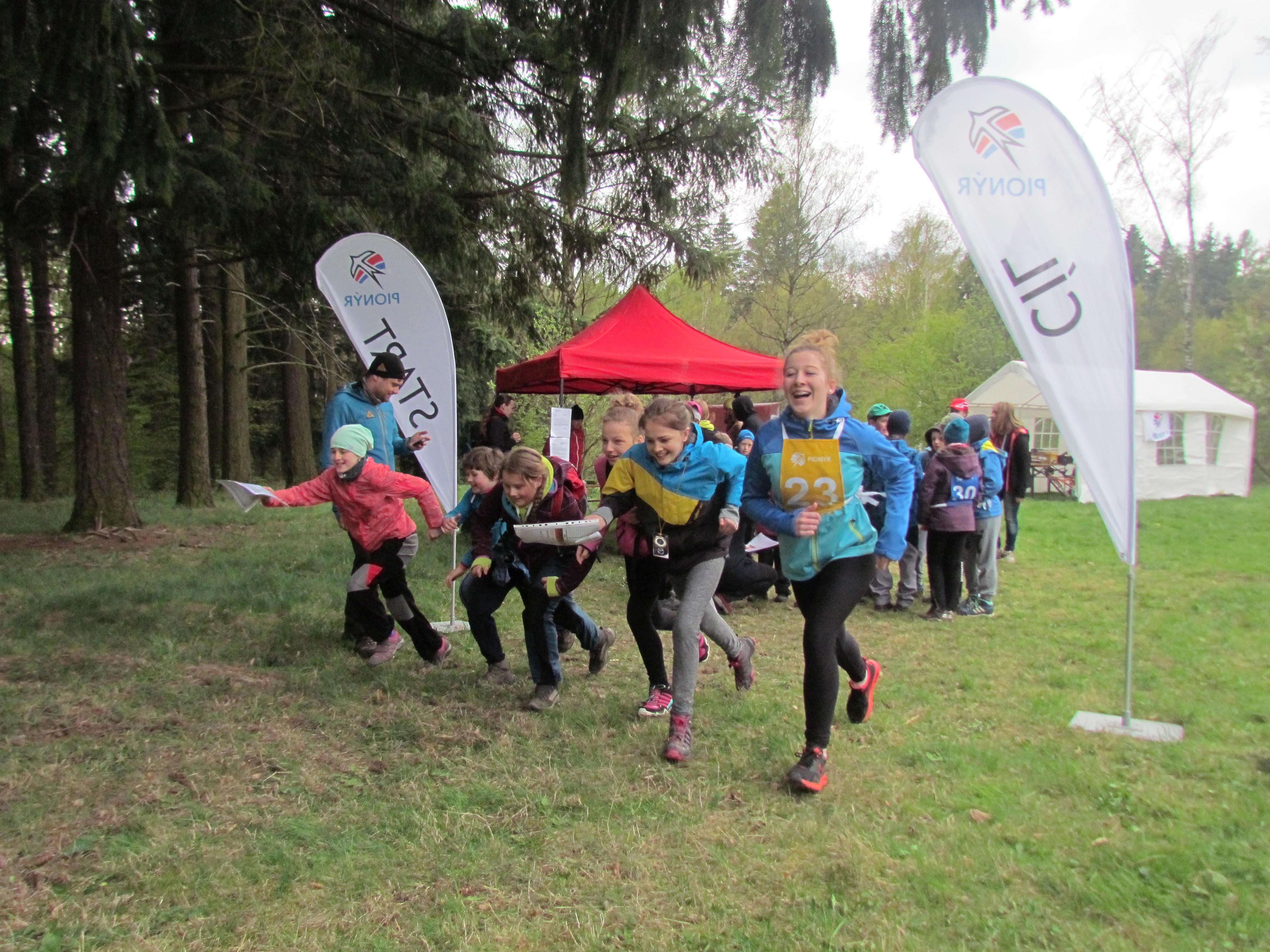 Jihomoravští pionýři v dubnu změří síly v Setonově závodě